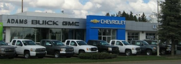 Adams GMC Wetaskiwin and Ponoka